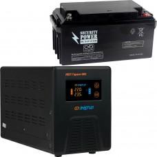 Источник бесперебойного питания Энергия Инвертор ПН-500+ акк. 65 Ач